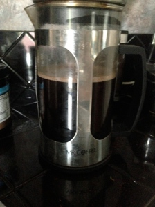 French press rocks